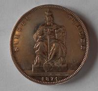 Prusko Tolar 1871 nad Francií, Vilém I., vítěžný
