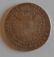 Rakousko 1/2 Tolar 1763 František Lotrinský