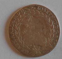 Rakousko 20 Krejcar 1768 EVMD Josef II.