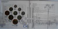 Ročníková sada oběžných mincí ČR (2001-Týnský chrám), stavy 0/0