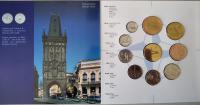 Ročníková sada oběžných mincí ČR (2002-NATO), stavy 0/0