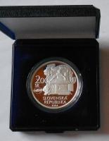 Slovensko 200 Koruna 2004 Úmrtí V. A. Mozarta, proof