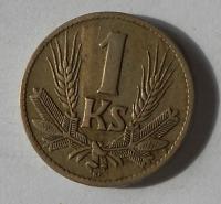 Slovenský štát 1 Koruna 1940