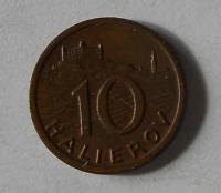 Slovenský štát 10 Haléř 1939
