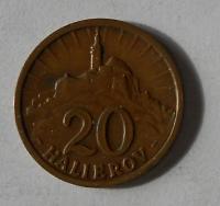 Slovenský štát 20 Haléř 1940