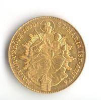 1 Dukát(1848-Au 900-5,66g-s madonou), stav 1+/0, revoluční ražba, maďarský opis
