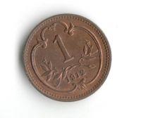 1 Haléř(1912-ražba bz), stav 0/0