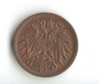 1 Haléř(1914-ražba bz), stav 0/0