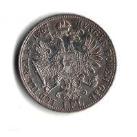 1 Zlatník/Gulden (1867-ražba B), stav 1/1 dr.hr.