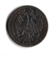 1 Zlatník/Gulden (1868-ražba A), stav 2/1- hr.