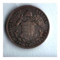 1 Zlatník/Gulden (1868-ražba GYF), stav 1-/2