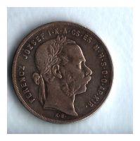 1 Zlatník/Gulden (1872-ražba KB), stav 1-/1- patina, dr.hr.