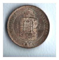 1 Zlatník/Gulden (1876-ražba KB), stav 1+/1+ patina