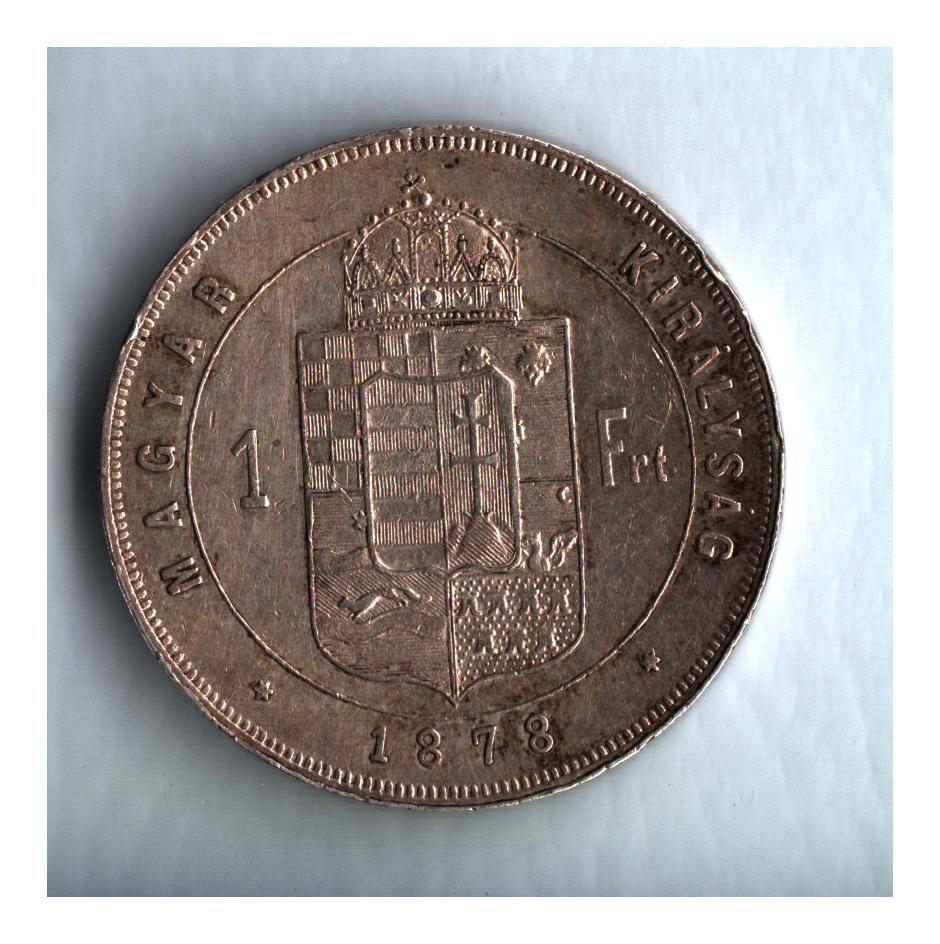 1 Zlatník/Gulden (1878-ražba KB), stav 1+/1+ patina, dr.hr.