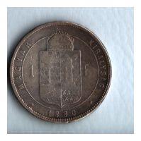 1 Zlatník/Gulden (1880-ražba KB), stav 2-/2-