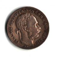1 Zlatník/Gulden (1884-ražba KB), stav 1+/1+ patina, dr.hr.