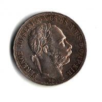 1 Zlatník/Gulden (1885-ražba KB), stav 1+/1+ patina, dr.hr.