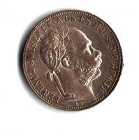 1 Zlatník/Gulden (1886-ražba KB), stav 1+/1+ patina, dr.hr.