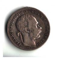 1 Zlatník/Gulden (1888-ražba KB), stav 1-/1 hr.
