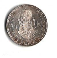 1 Zlatník/Gulden (1889-ražba KB), stav 1+/1+  hr.