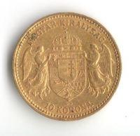 10 Koruna(1892-Au 900-3,4g-ražba KB), stav 1/1