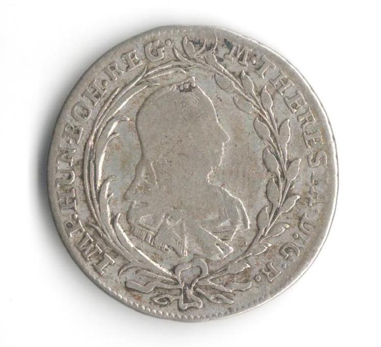 10 Krejcar(1780-ražba HS), stav 1-/2+, velmi vzácný R!