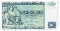 1000Kč/1934/, stav UNC perf. SPECIMEN, série R