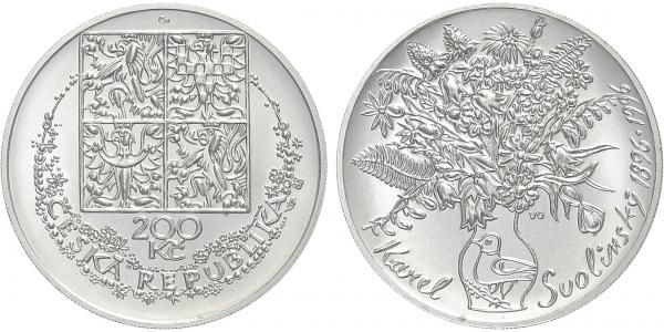 200 Kč(1996-Svolinský), stav 0/0