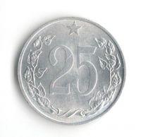 25 Haléř(1953), stav 0/0, mincovna Kremnice