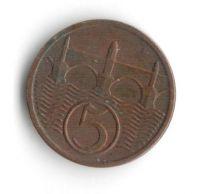 5 Haléř(1931), stav 1/1+