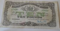 Belfast 10 Pounds 1943, zelený číslovač