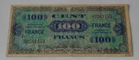 Francie 100 Frank 1944 Vojenská poukázka