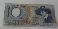 Holandsko 10 Gulden 1943