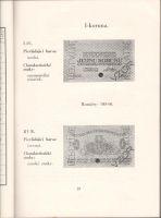 Mince, státovky a bankovky české korunové měny, příručka pro sběratele (1941), F.Vlček