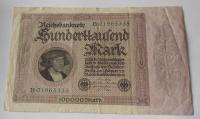Německo 100 000 Marek 1923