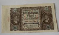 Německo 2 miliony Marek 1923