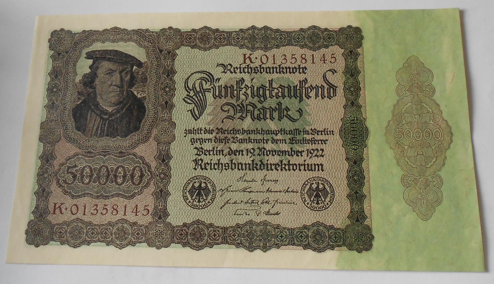 Německo 50 000 Marek 1922