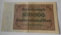 Německo 500 000 Marek 1923