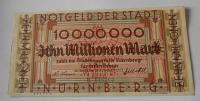 Německo – Norinberg 10.000.000 Marek 1923