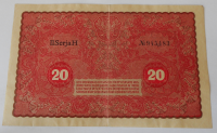 Polsko 20 Marek polských 1919