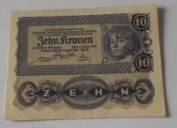 Rakousko 10 Koruna 1922