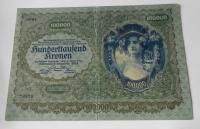 Rakousko 100 000 Koruna 1922