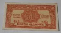 Rakousko 50 Schilling 1944 Vojenská poukázka