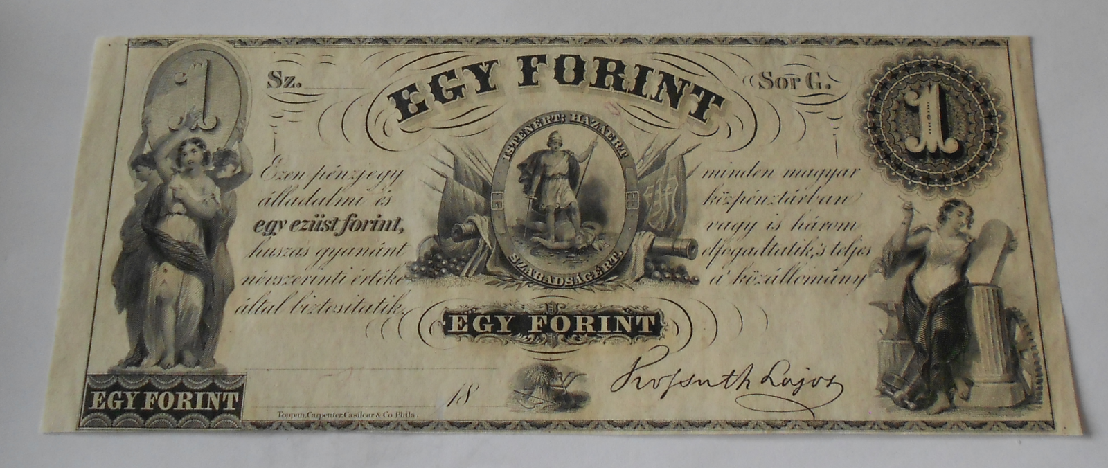 Uhry 1 Forint
