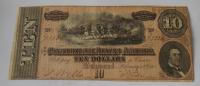 USA 10 Dolar 1864 Richmond
