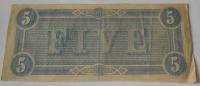 USA 5 Dolar 1864 Richmond