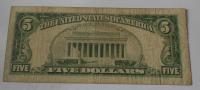 USA 5 Dolar 1963