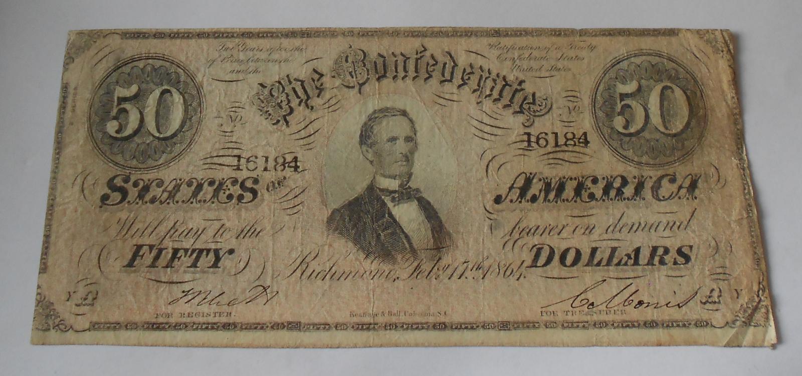USA 50 Dolar 1964 Richmond