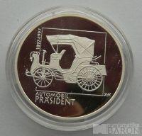 200 Kč(1997-automobil president), stav PROOF, etue a certifikát