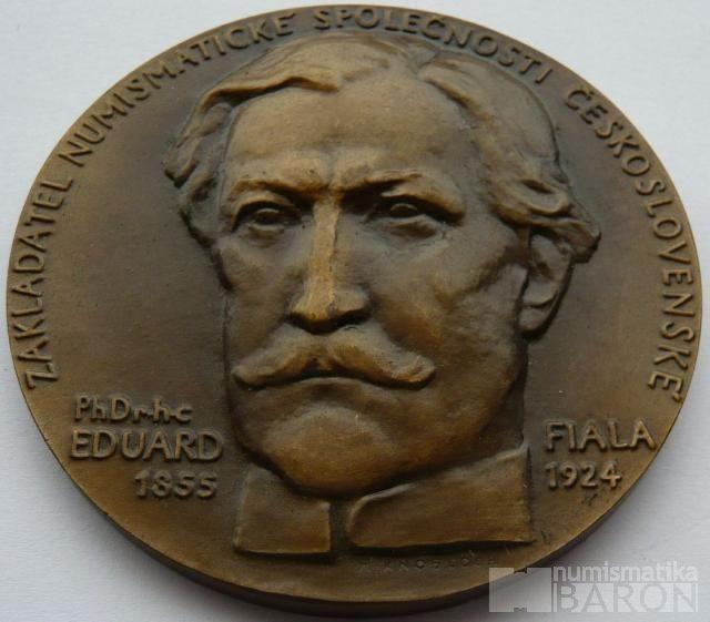 ČSR - numismatik Eduard Fiala